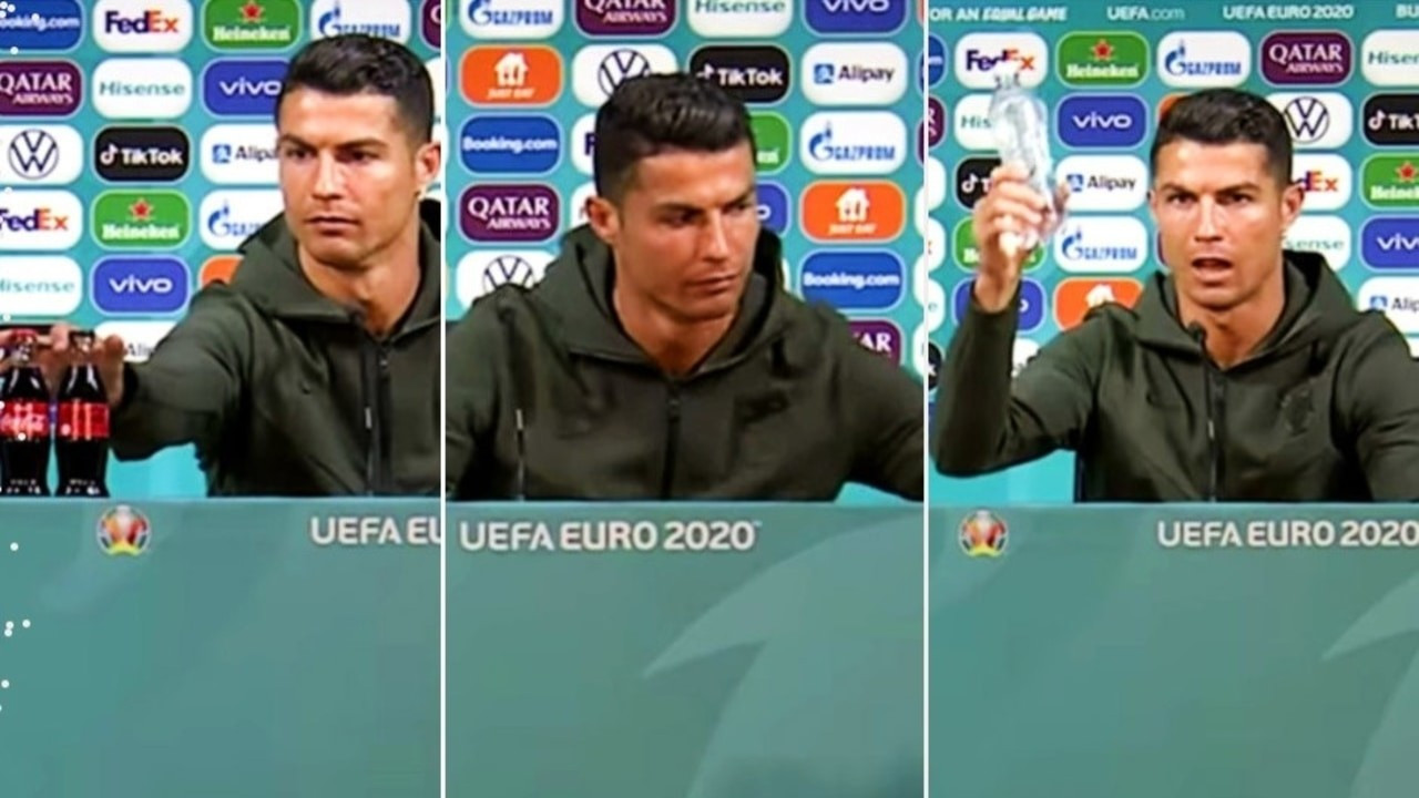 Ronaldo'nun Coca Cola tepkisinin maliyeti