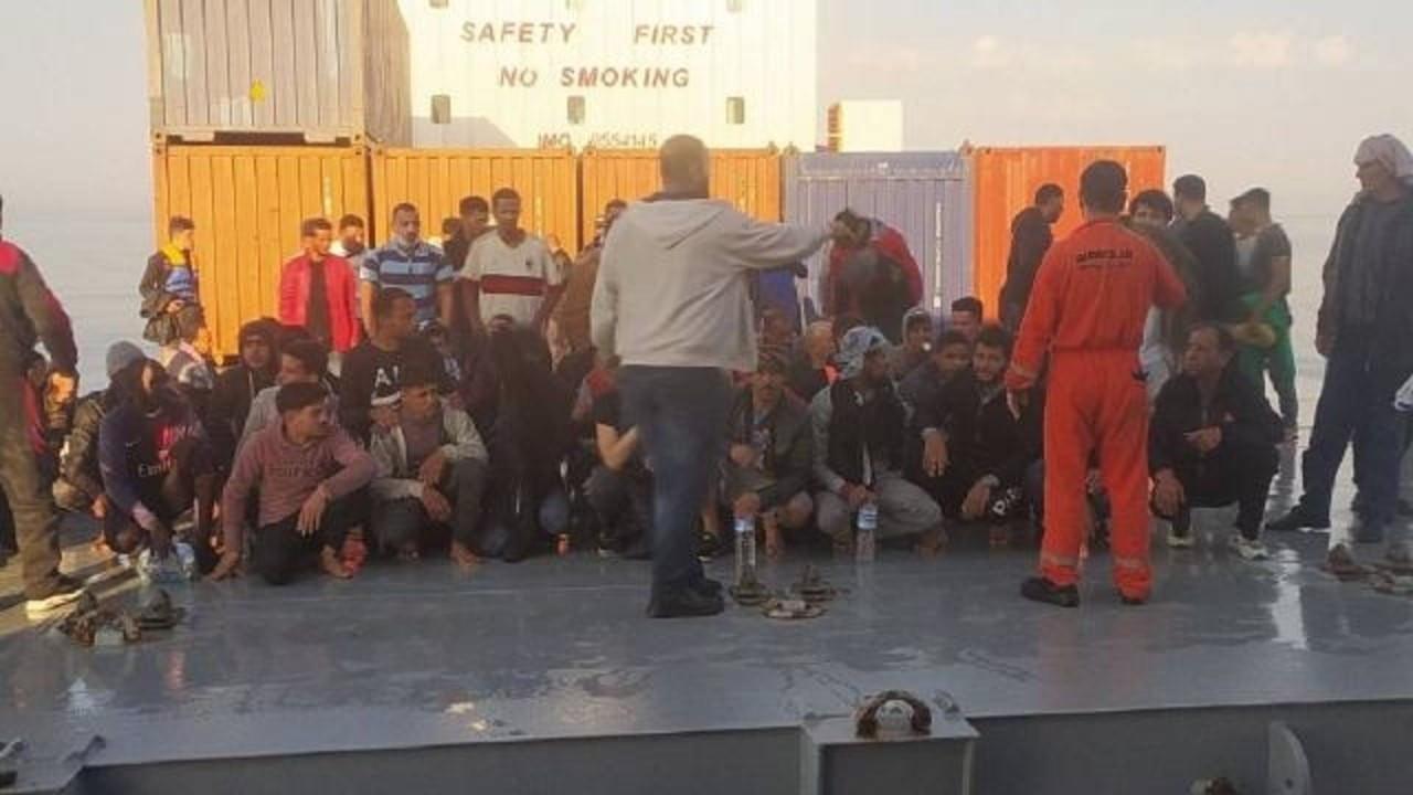 Türk kaptanın kurtardığı göçmenler Malta'da