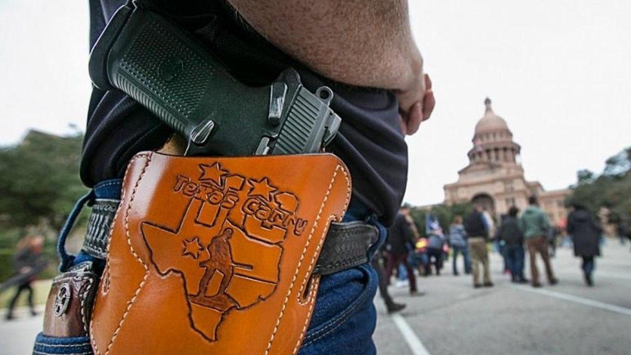 Teksas'ta ruhsatsız silah taşımak artık serbest