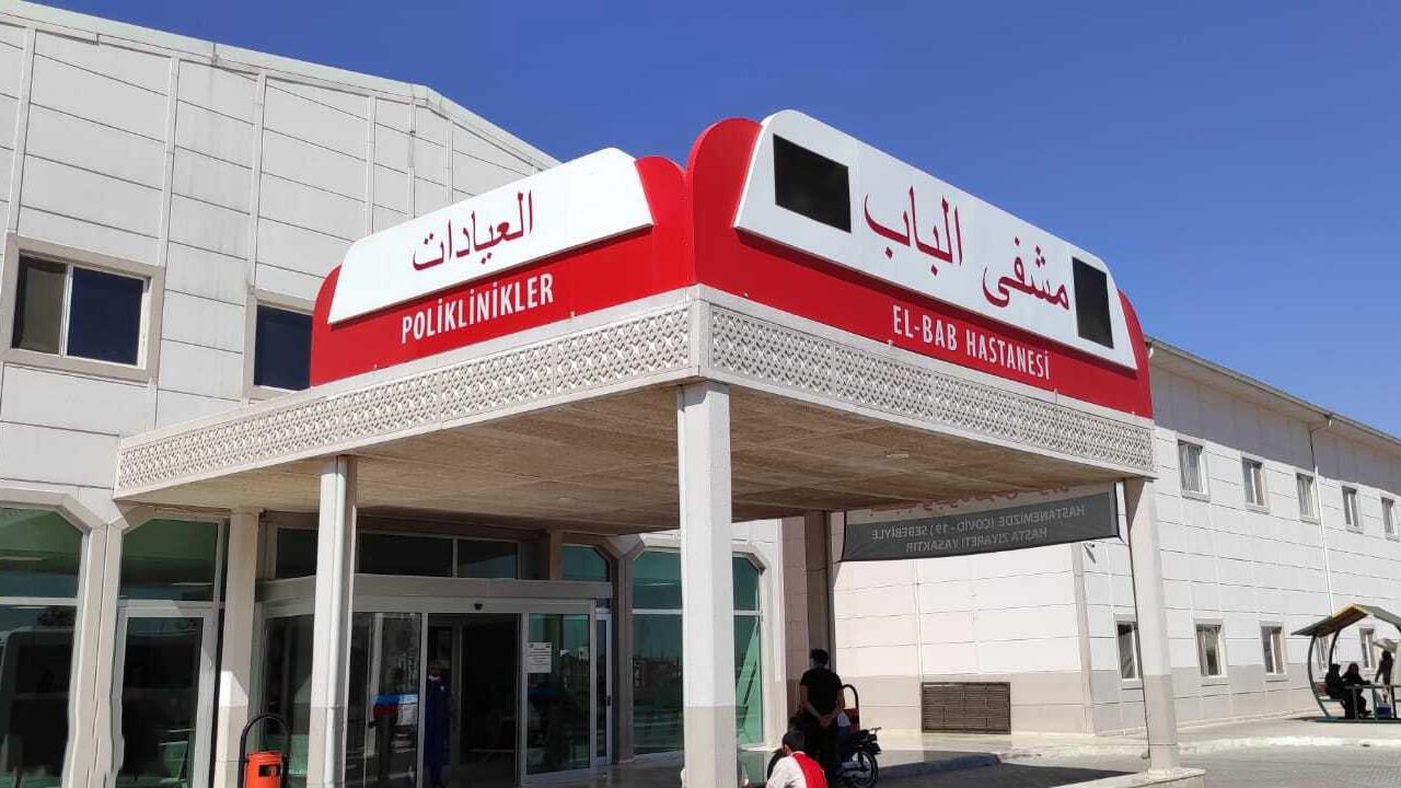 Türkiye'den El Bab'a modern hastane