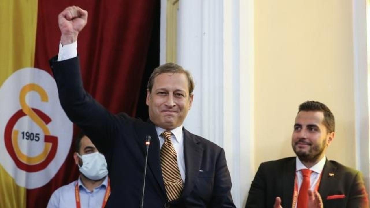 Galatasaray yeni başkanını seçti