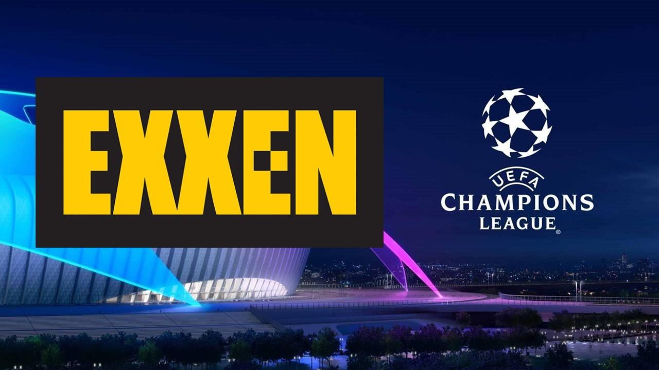 Şampiyonlar Ligi artık EXXEN'de!