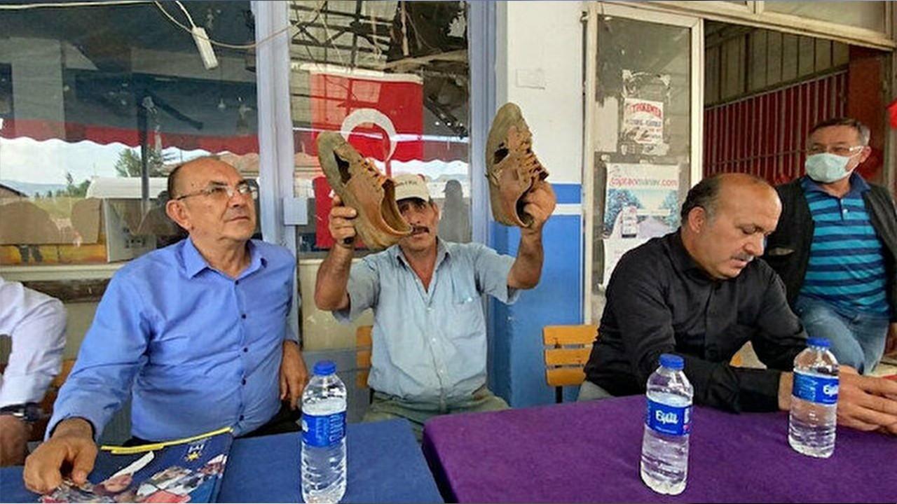 İYİ Partili 'Ayakkabısı delik' kişi varlıklı çıktı