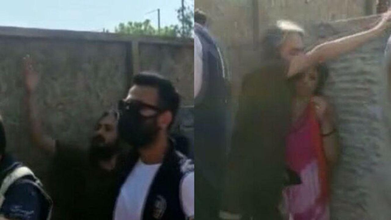 Türk bayrağını yırtan kişi yakalandı