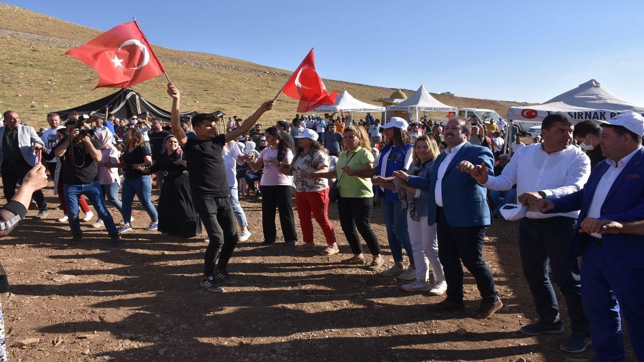 Terörden temizlenen Cudi Dağı'nda festival