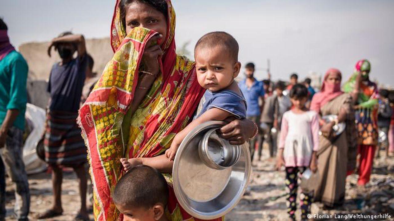 Açlıkla mücadele eden insanların sayısı arttı
