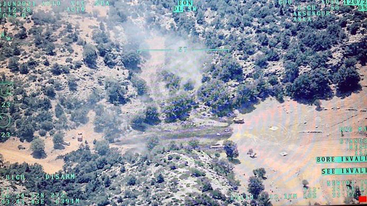 İHA'nın tespit ettiği orman yangını söndürüldü