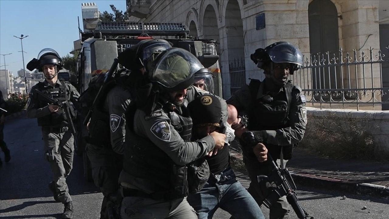 1 Filistinli yaralandı, 12 kişi gözaltına alındı