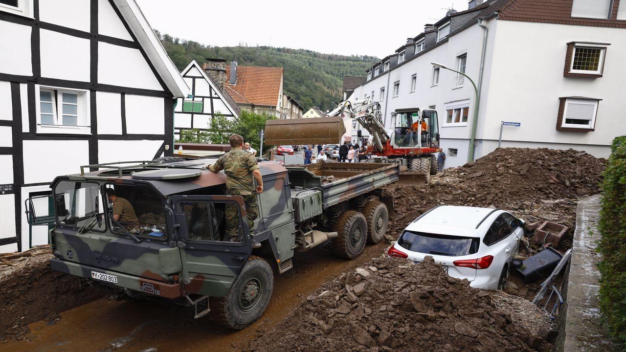 Almanya'da yaşamını yitirenlerin sayısı 58'e çıktı