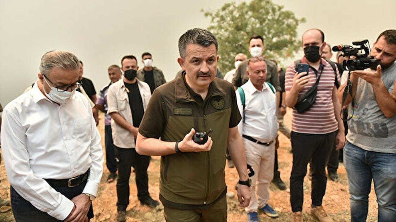 Mersin'deki yangına ilişkin 4 gözaltı