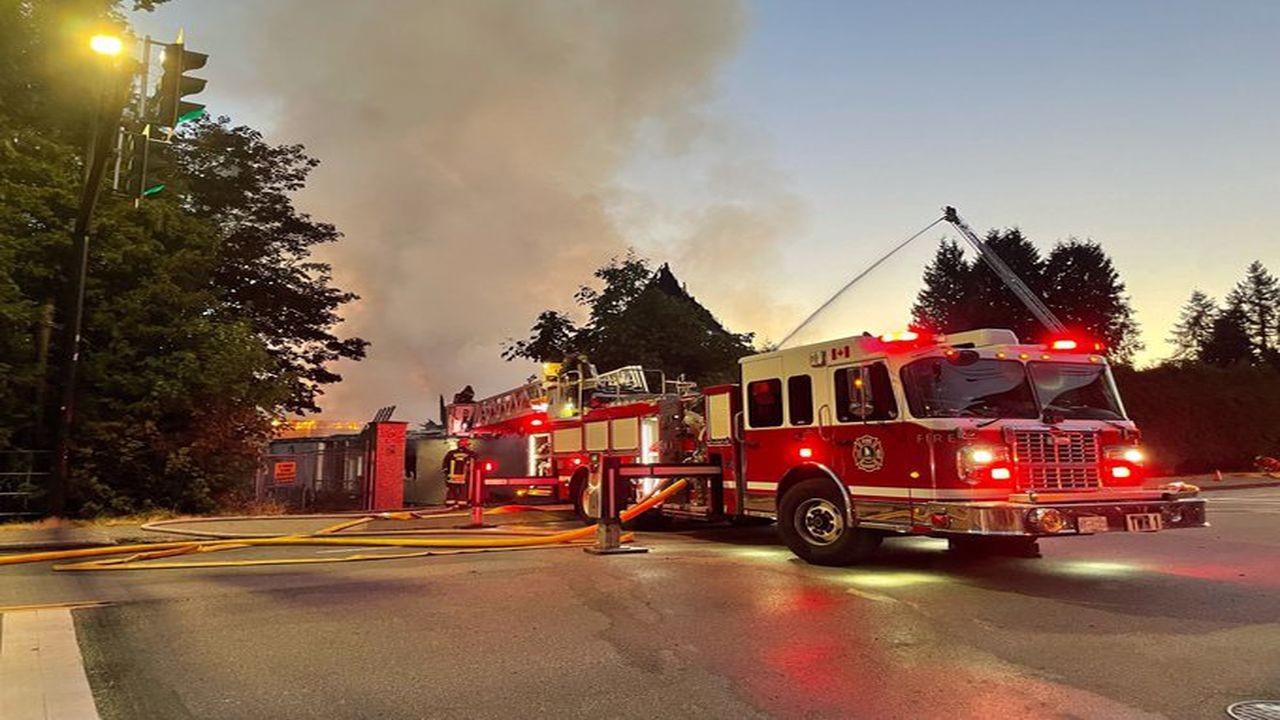 Kanada'da şüpheli bir kilise daha yandı