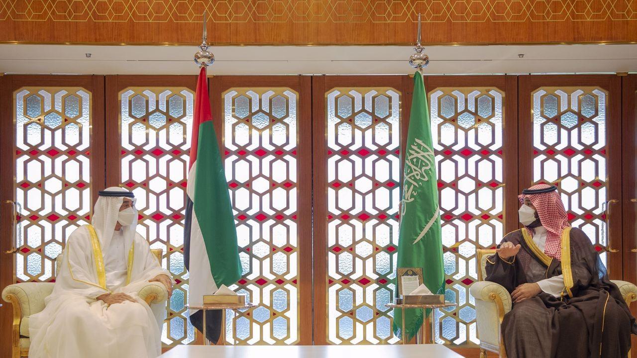 Suudi Arabistan ve BAE veliaht prensleri görüştü