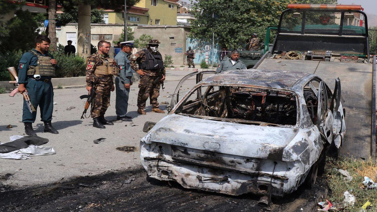 Afganistan'da cumhurbaşkanlığı sarayına 3 roket