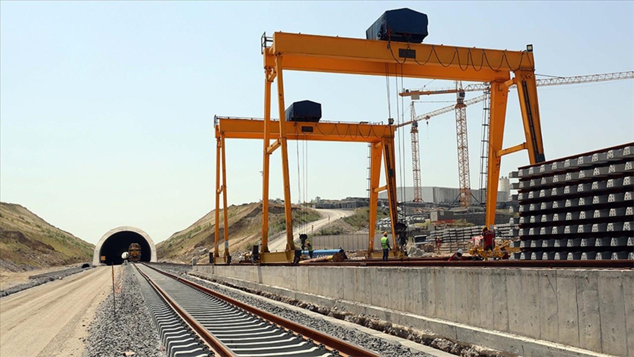 'Hızlı tren' hattı altyapı çalışmaları Bulgaristan sınırına yaklaştı