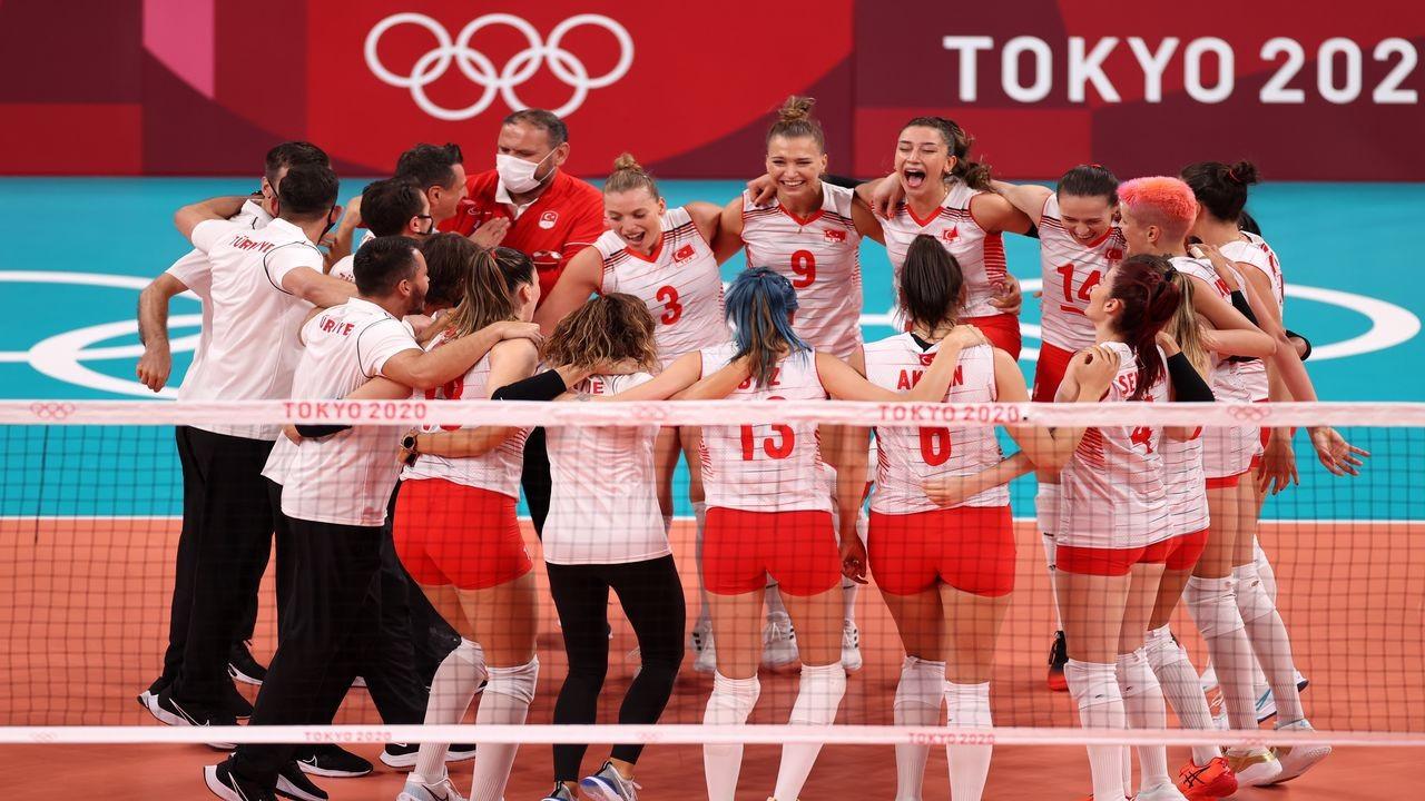 Son olimpiyat şampiyonunu mağlup ettik.