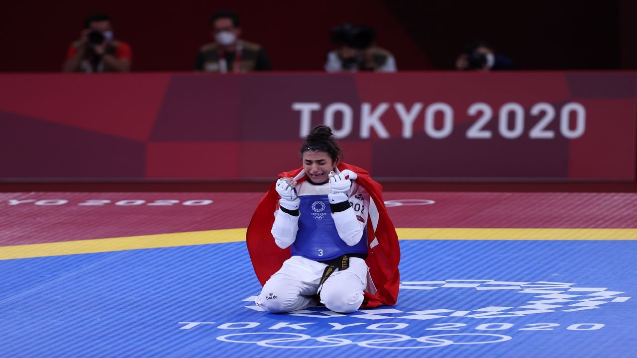 Hatice, Tokyo 2020'de bronz madalya kazandı