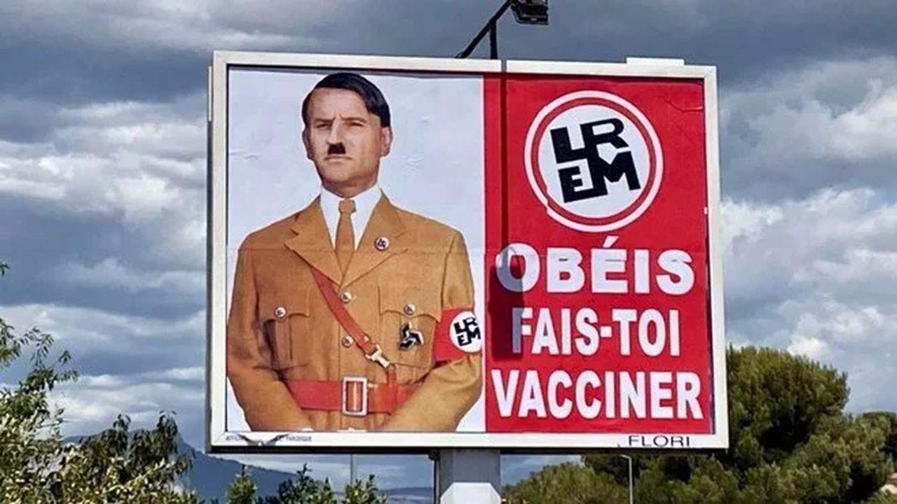 Macron, Hitler'e benzetildi suç duyurusnda bulundu
