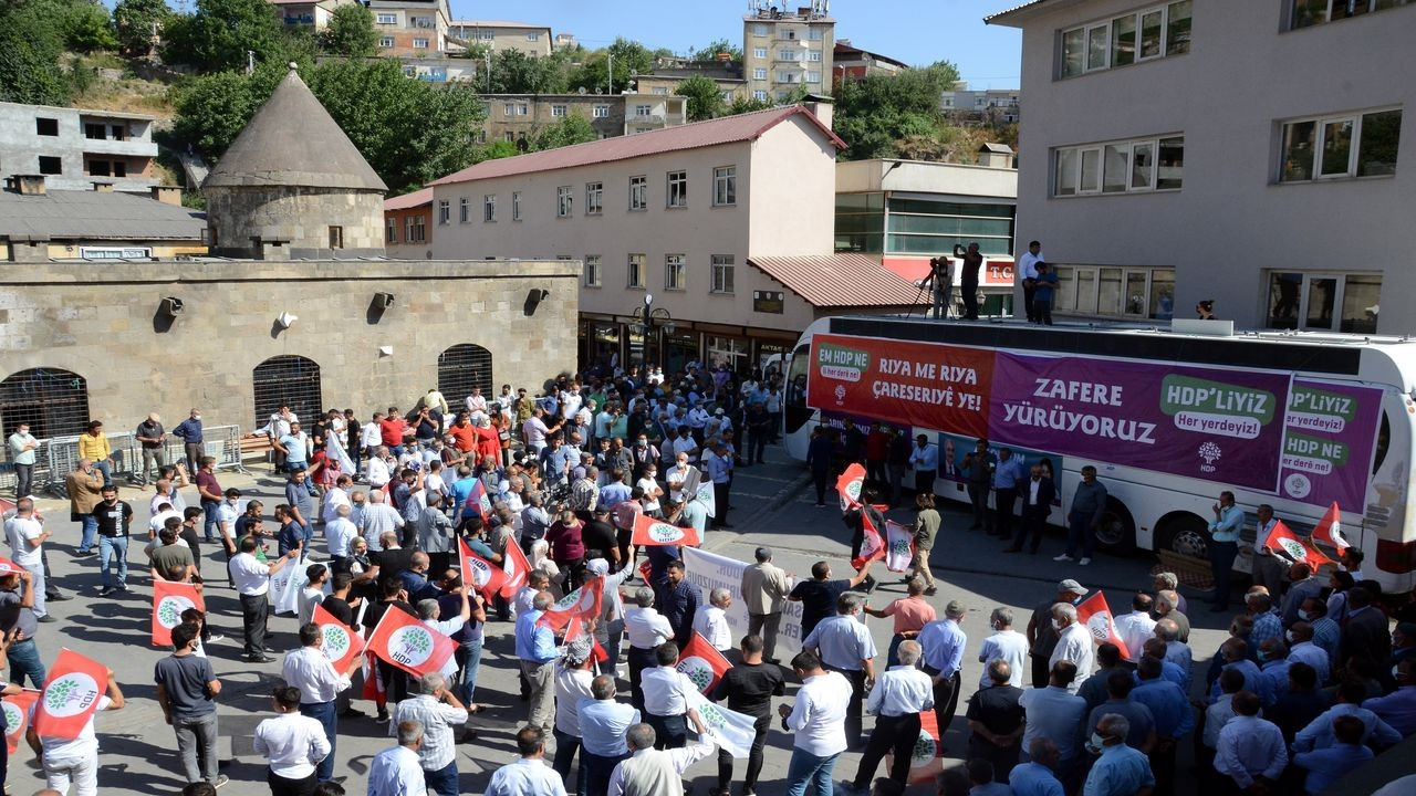 HDP Eş Genel Başkanı Sancar, Bitlis'te konuştu
