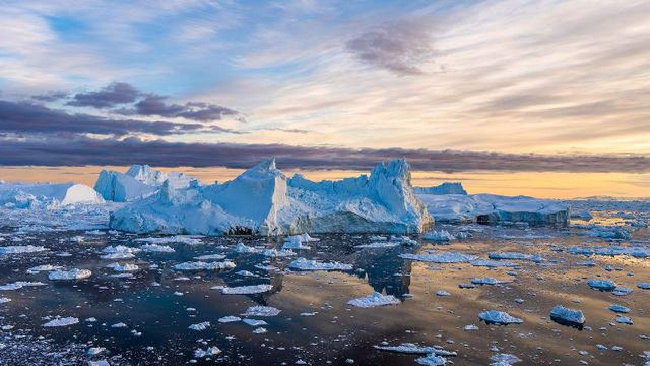 Grönland 8,5 milyar tondan fazla kütle eridi