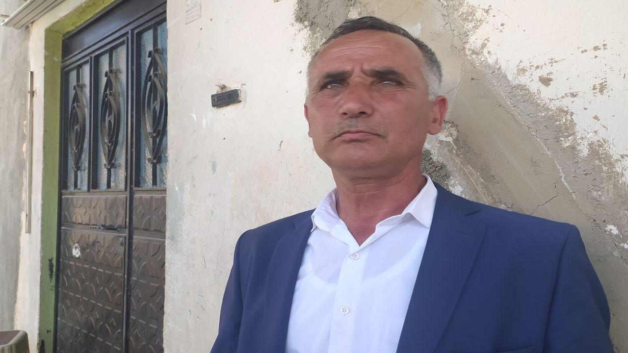 Konya'da silahla öldürülen ailenin akrabası Erol Şan, basın mensuplarına konuştu