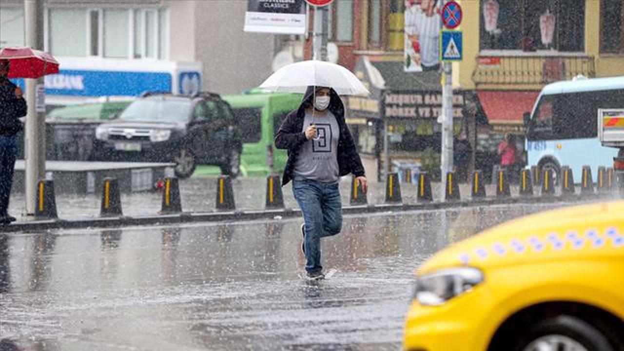 Karadeniz'de kuvvetli yağış bekleniyor