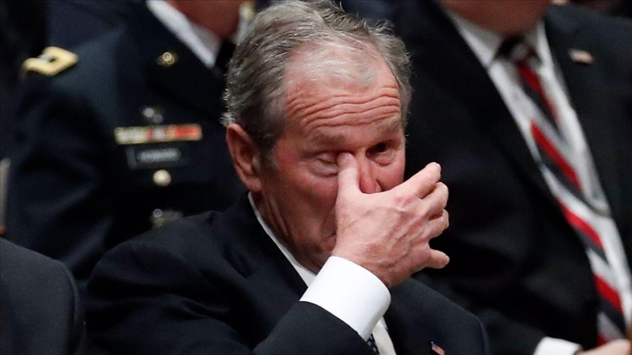 Bush, Afganistan'daki olaylardan üzüntü duyuyor