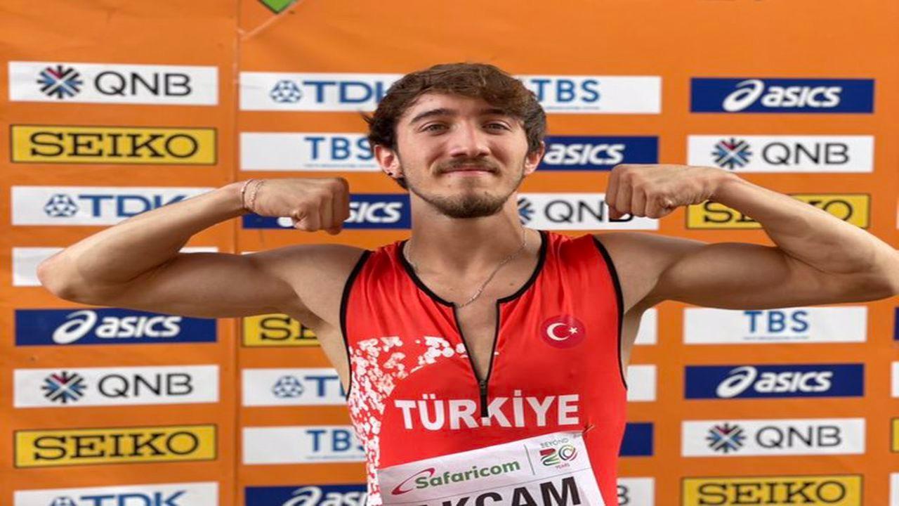 Milli atlet Berke Akçam, dünya ikincisi oldu