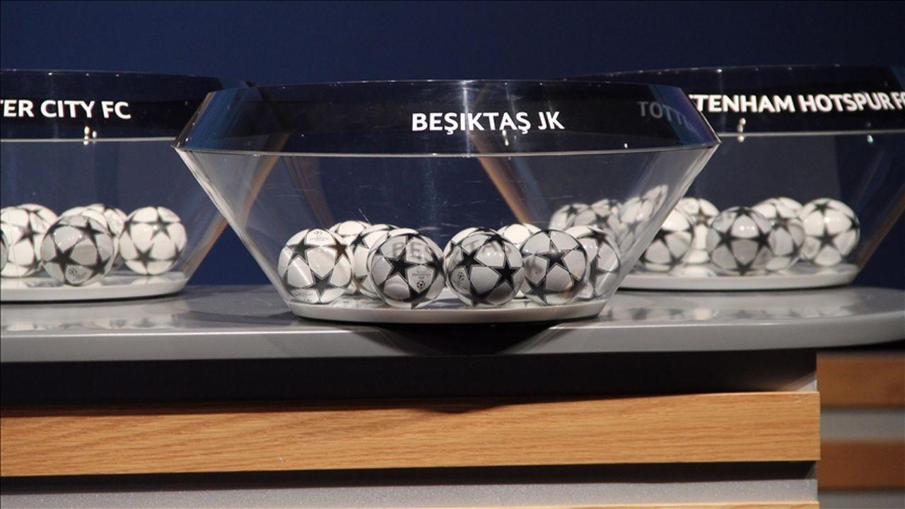 Beşiktaş'ın rakipleri belli oldu