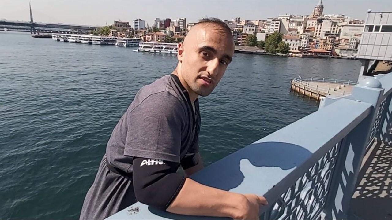 Galata Köprüsü'nden gemiye atlayan kişi gözaltında