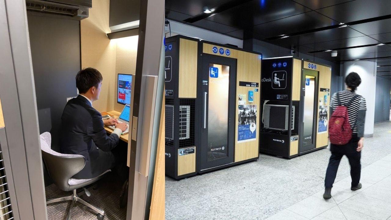Tokyo metrosunda yenilikçi fikir Cocodesk