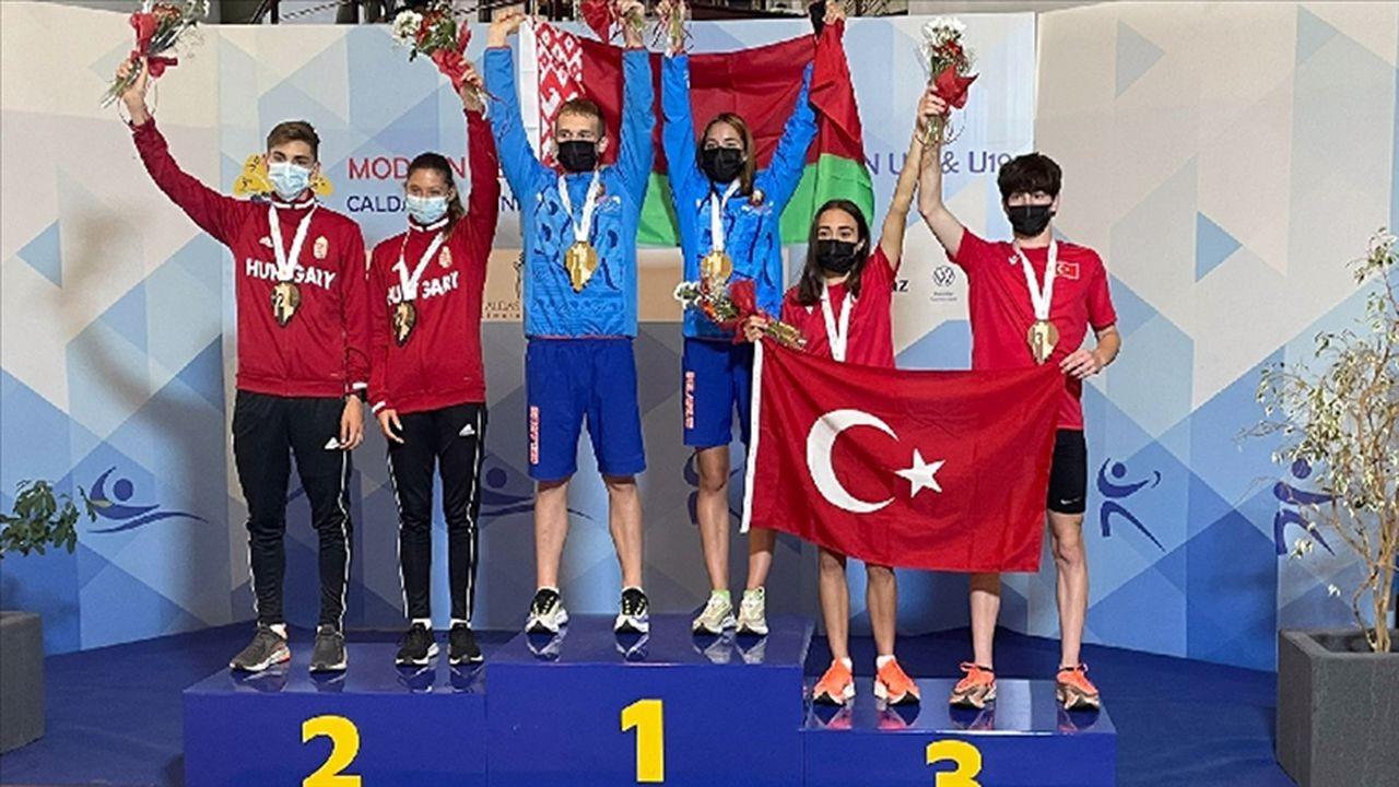 Genç Pentatletlerden Portekiz'de bronz madalya