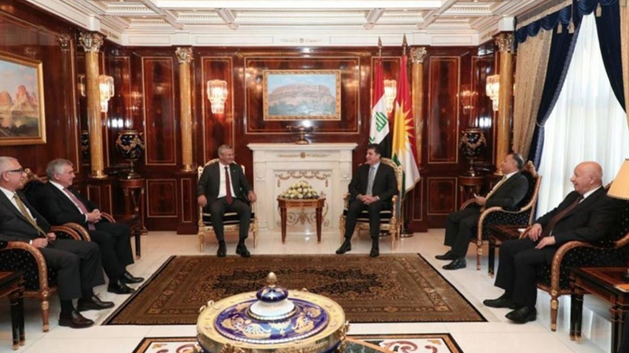 CHP heyeti IKBY Başkanı Barzani ile görüştü