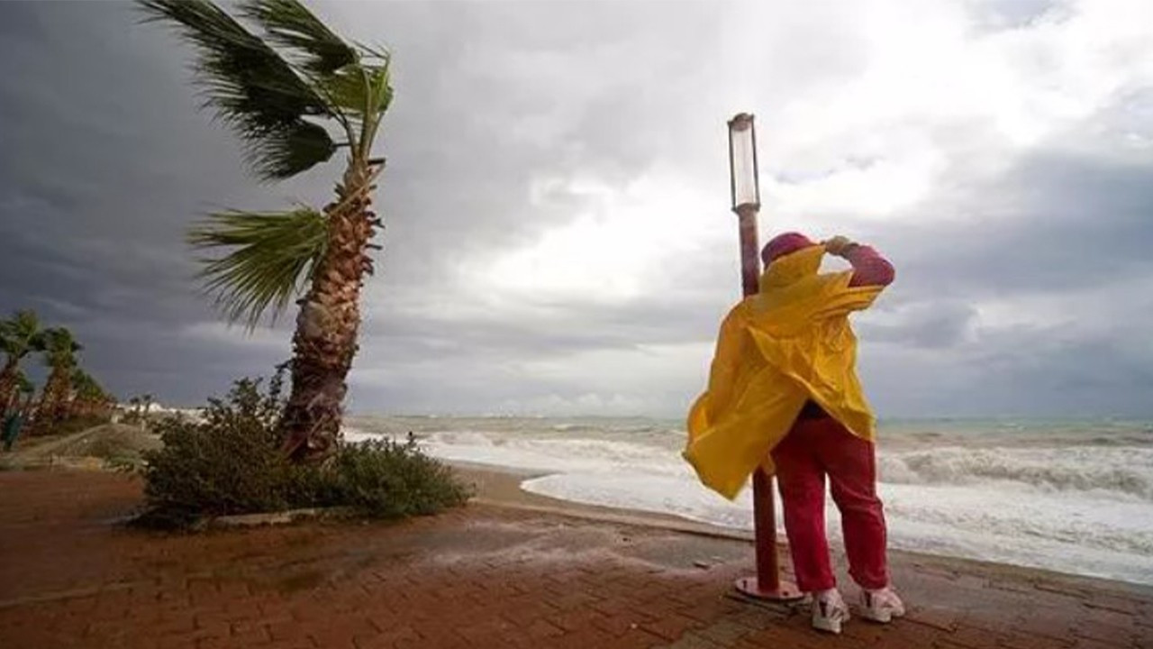Marmara için için fırtına uyarısı