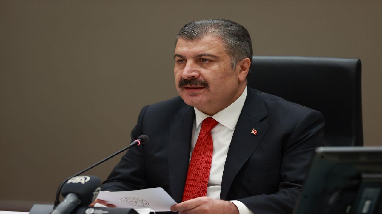 Sağlık Bakanı Koca, basın toplantısı düzenledi