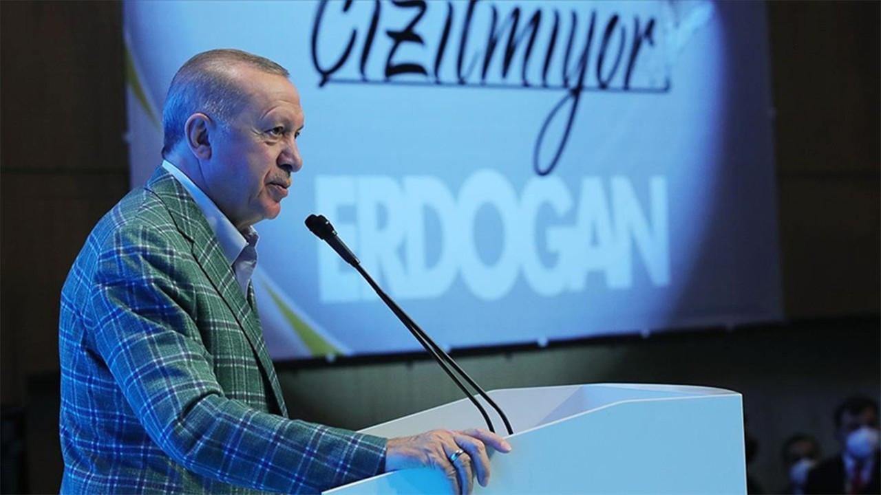 Cumhurbaşkanı Erdoğan'dan muhalefete tepki