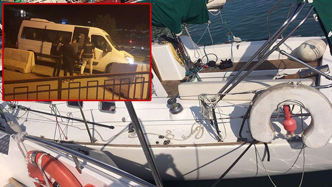 FETÖ'cüler 340 bin TL'lik tekneyle yakalandı