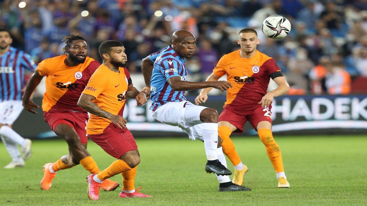 Trabzonspor ile Galatasaray yenişemedi
