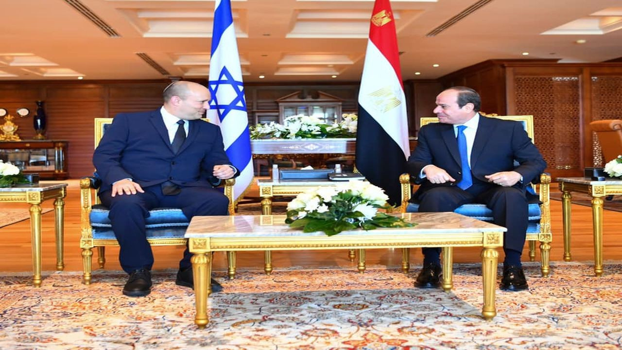 İsrail'den Mısır'a 10 yıl sonra ilk ziyaret