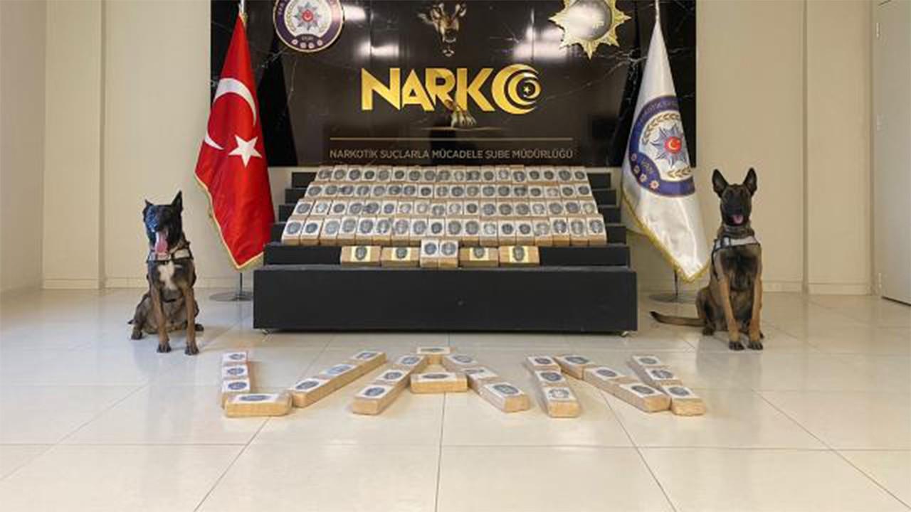 Van'da 122 kilogram uyuşturucu ele geçirildi
