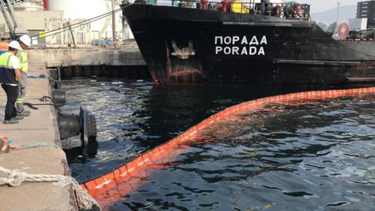 Denizi kirleten gemiye 1 milyon 286 bin ceza
