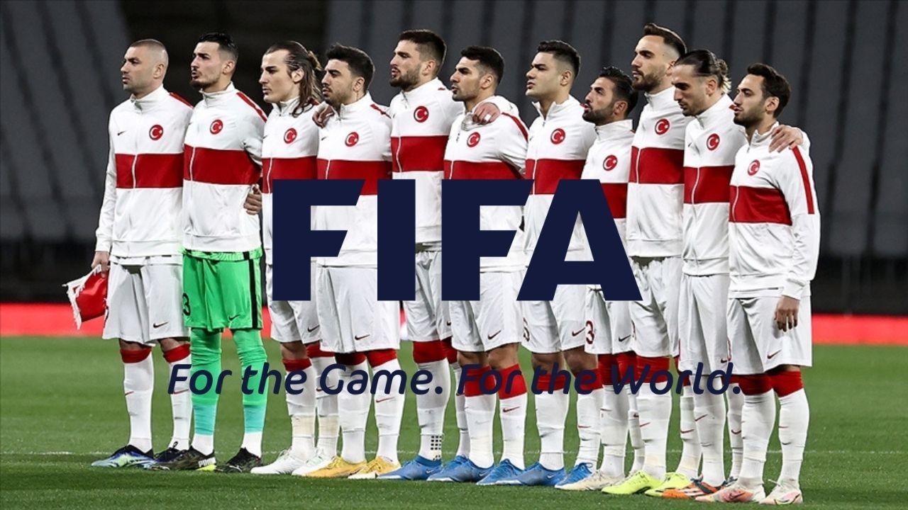 Türkiye FİFA sıralamasında gerilemeye devam ediyor