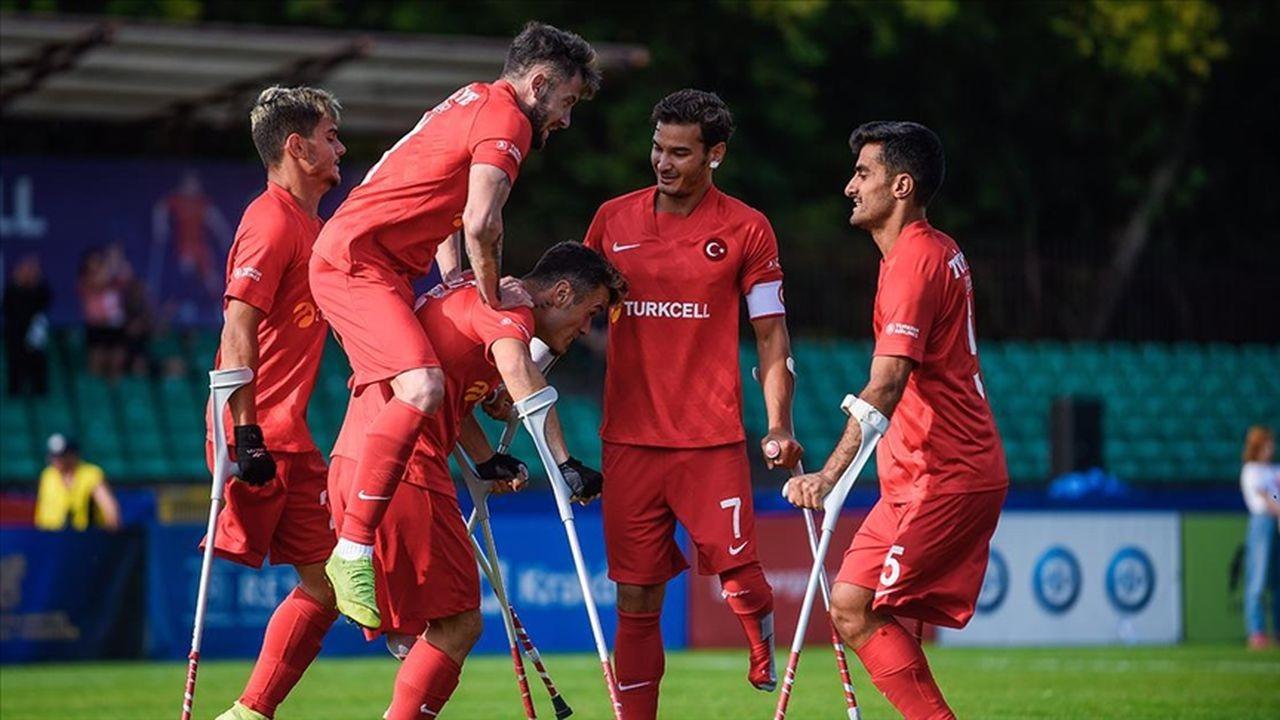 Ampute Futbol Milli Takımı yarı finale yükseldi