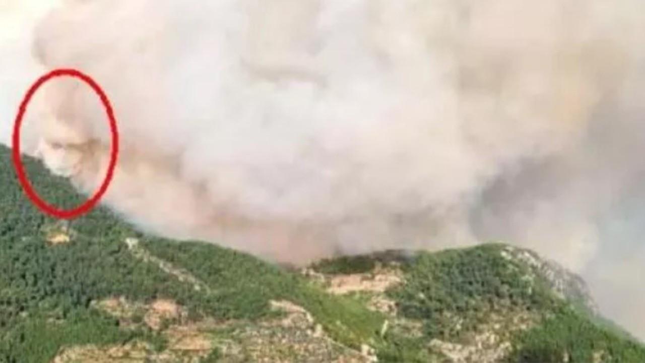 Antalya'daki yangında 'yangın şeytanı' oluşmuş