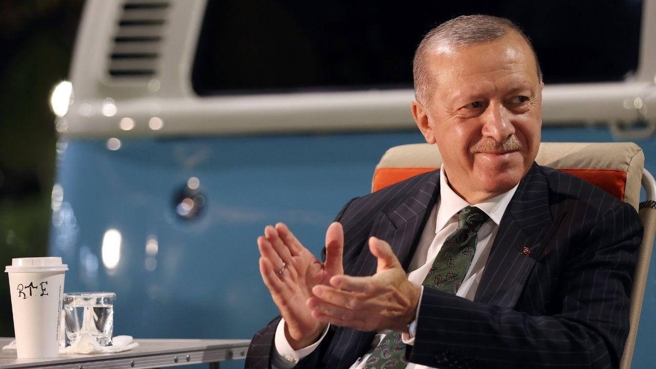 Cumhurbaşkanı Erdoğan'ı hiç böyle görmediniz