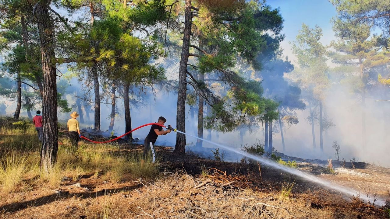 Tarsus'ta çıkan yangın kontrol altına alındı