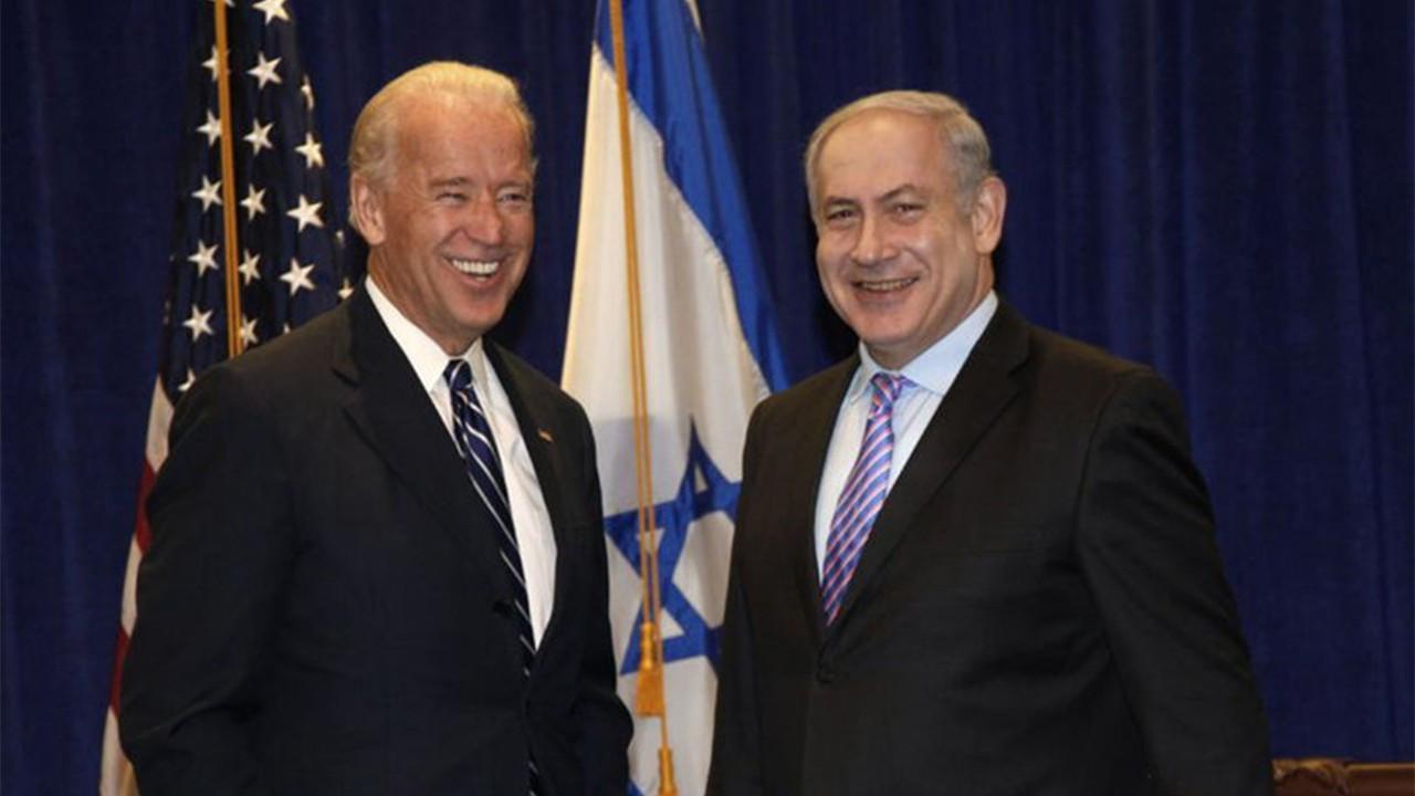 Netanyahu, ABD Başkanı Biden ile alay etti