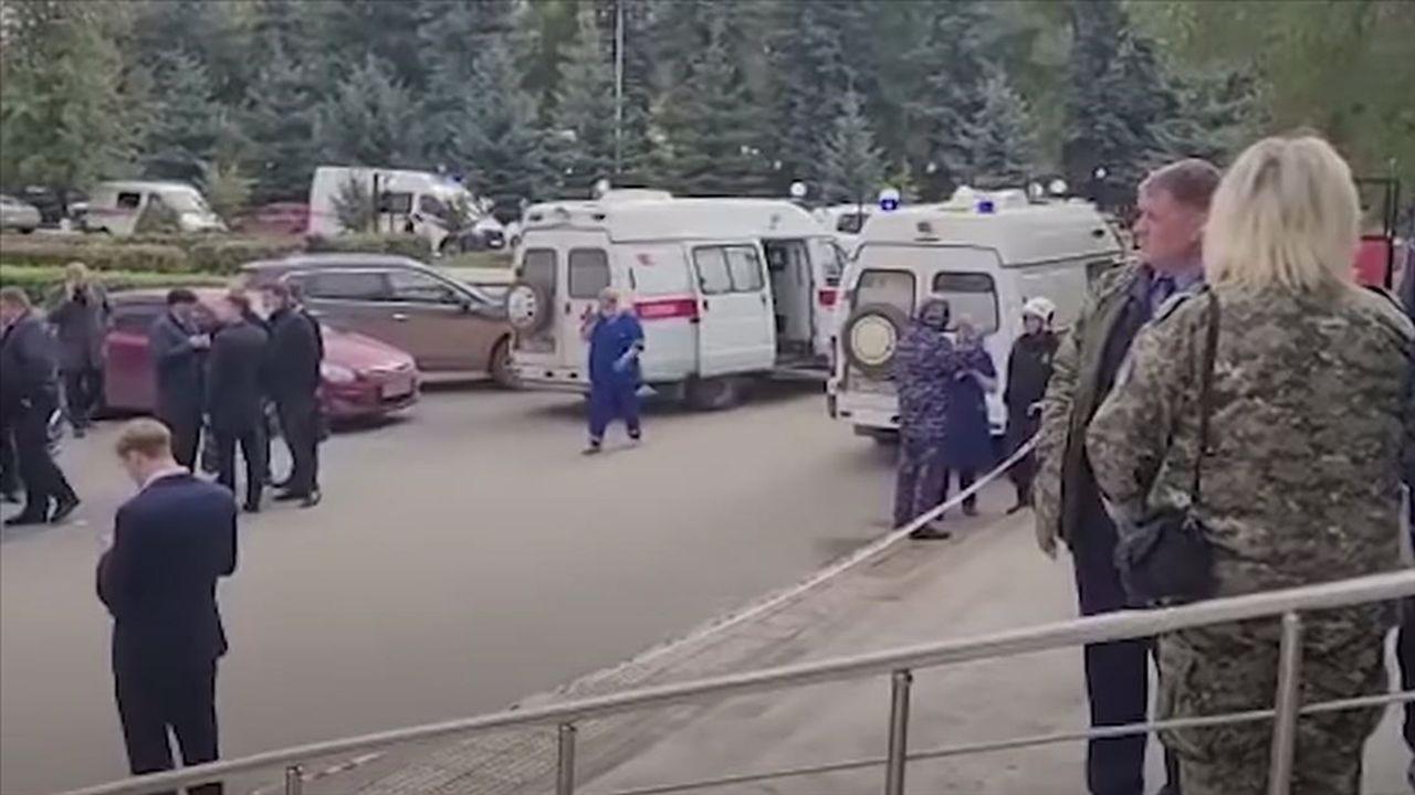 Rusya'da düzenlenen silahlı saldırıda 6 kişi öldü