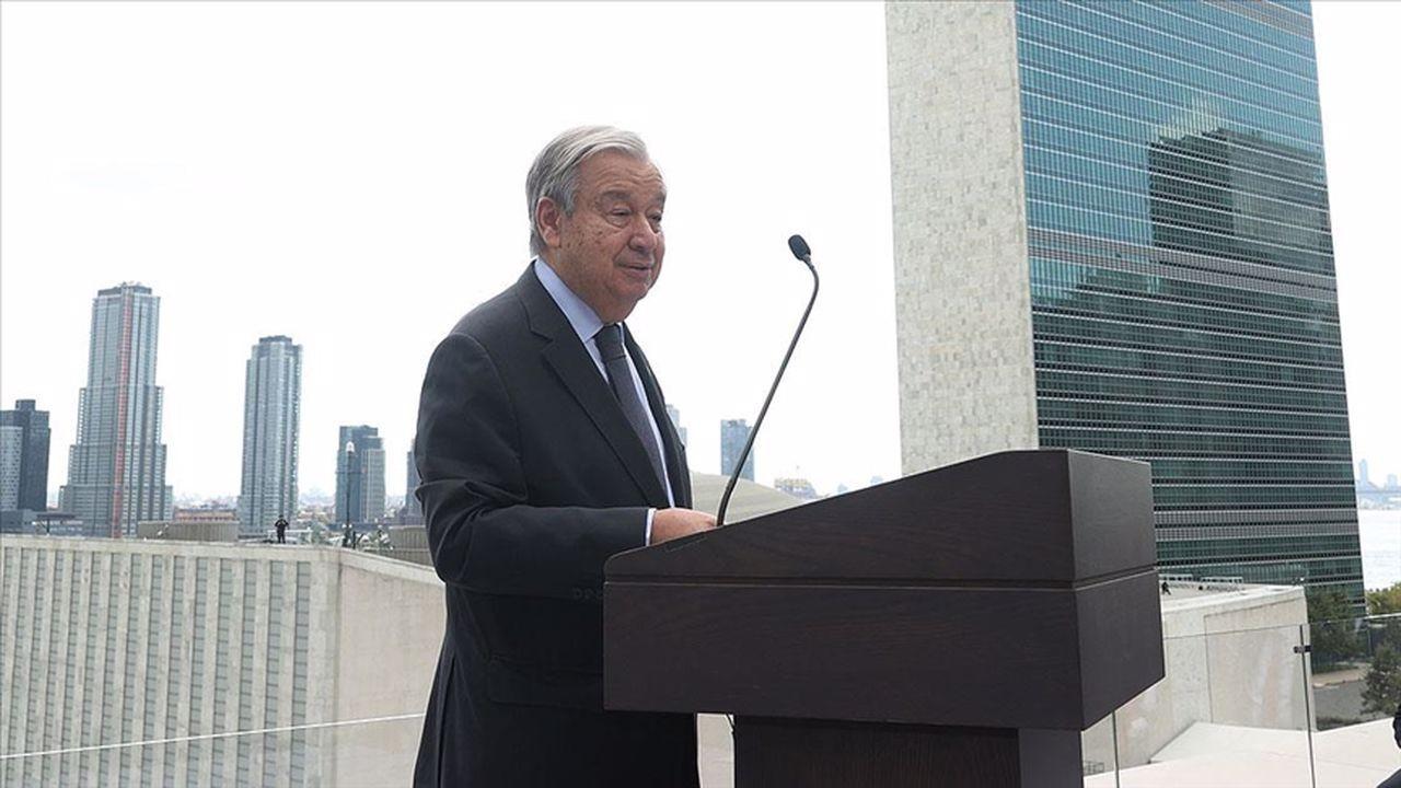 Guterres'ten Türkiye'ye teşekkür