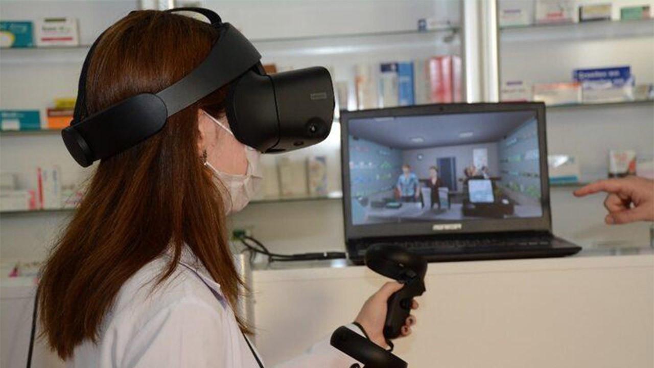 Eczacılara sanal gerçeklik uygulaması