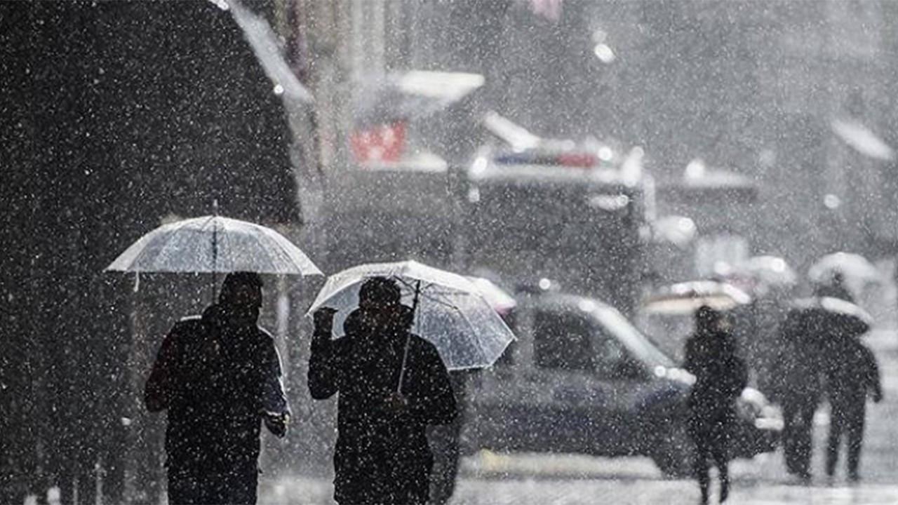 İstanbul ve birçok il için kuvvetli yağış uyarısı